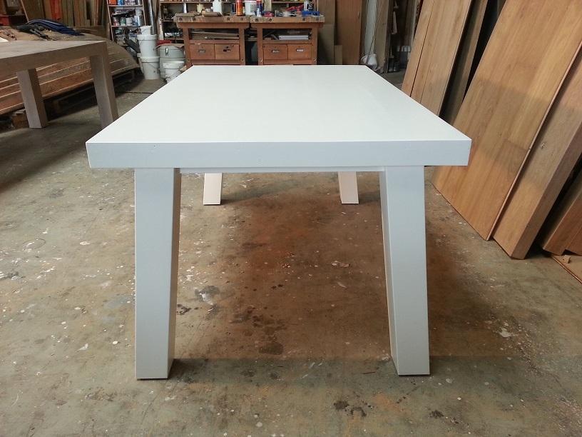 Wit Eiken Tafel : Eiken tafels eiken tafels hout eiken tafels eikenhouten