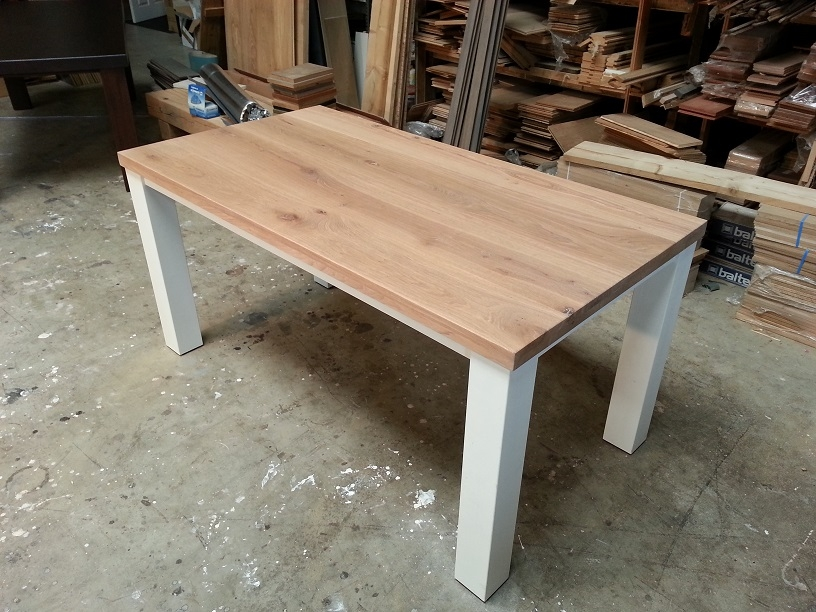 Wit Eiken Tafel : Eiken tafels: 7 eiken tafels hout eiken tafels & eikenhouten